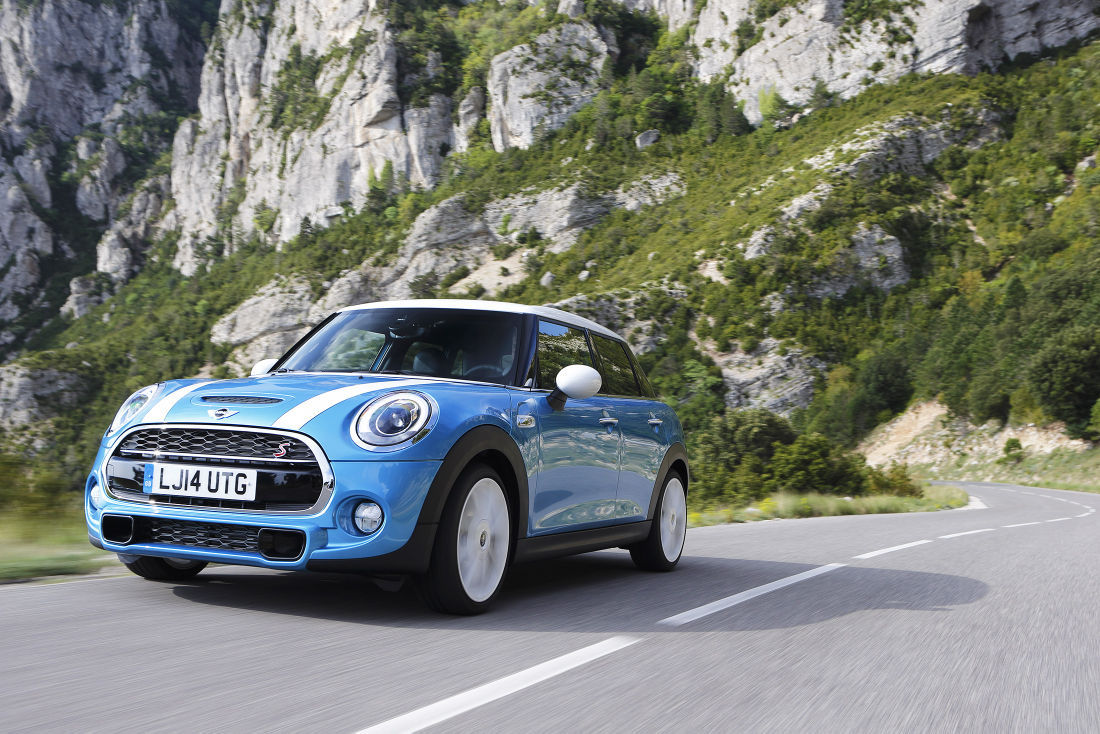 Four doors with fun: New, more practical version of Mini Cooper ...