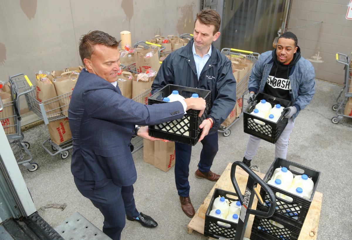 Strack & Van Til is giving North Township 100 bags of food
