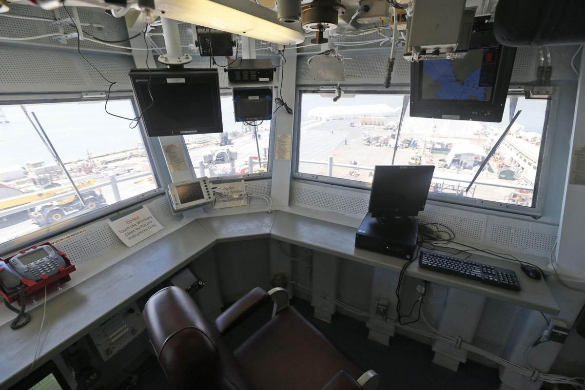 Hall Ford Newport News >> Photos: Inside the USS Gerald R. Ford, the Navy's next-generation aircraft carrier | National ...