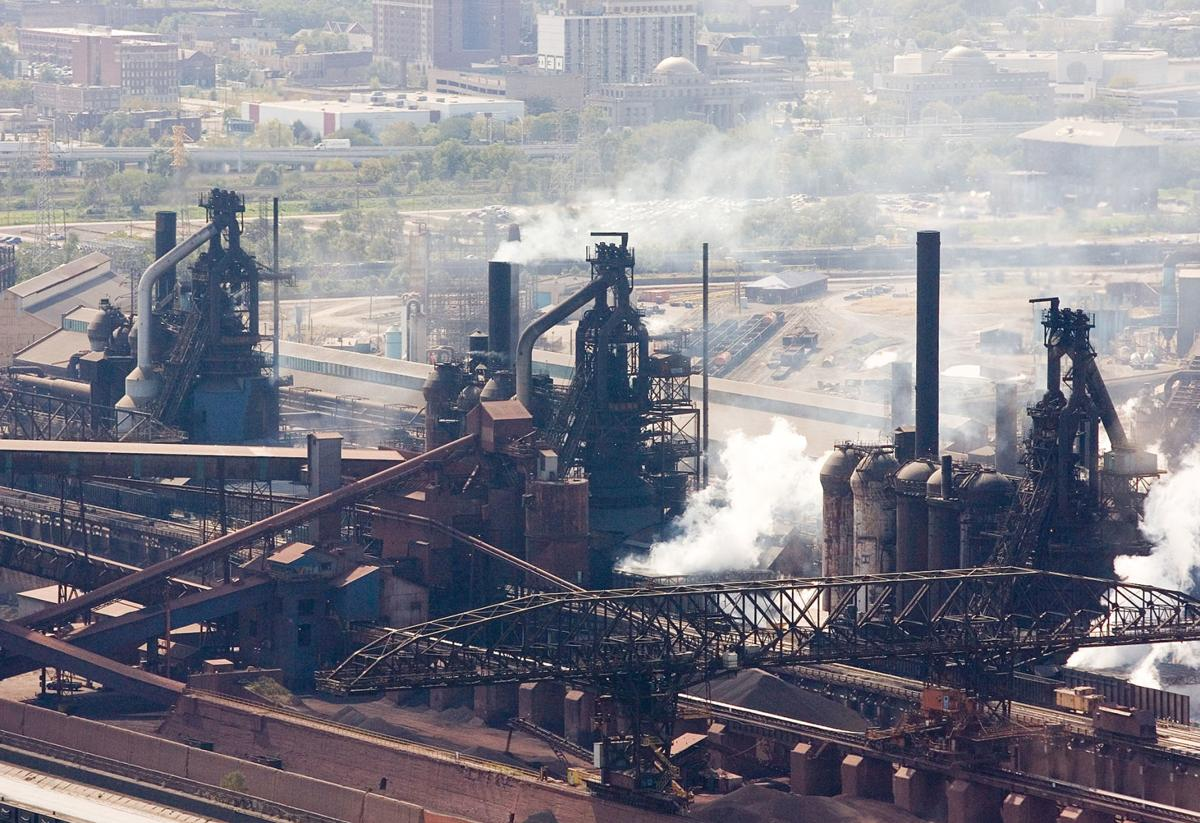 Contractor dies after fall at U.S. Steel Gary Works