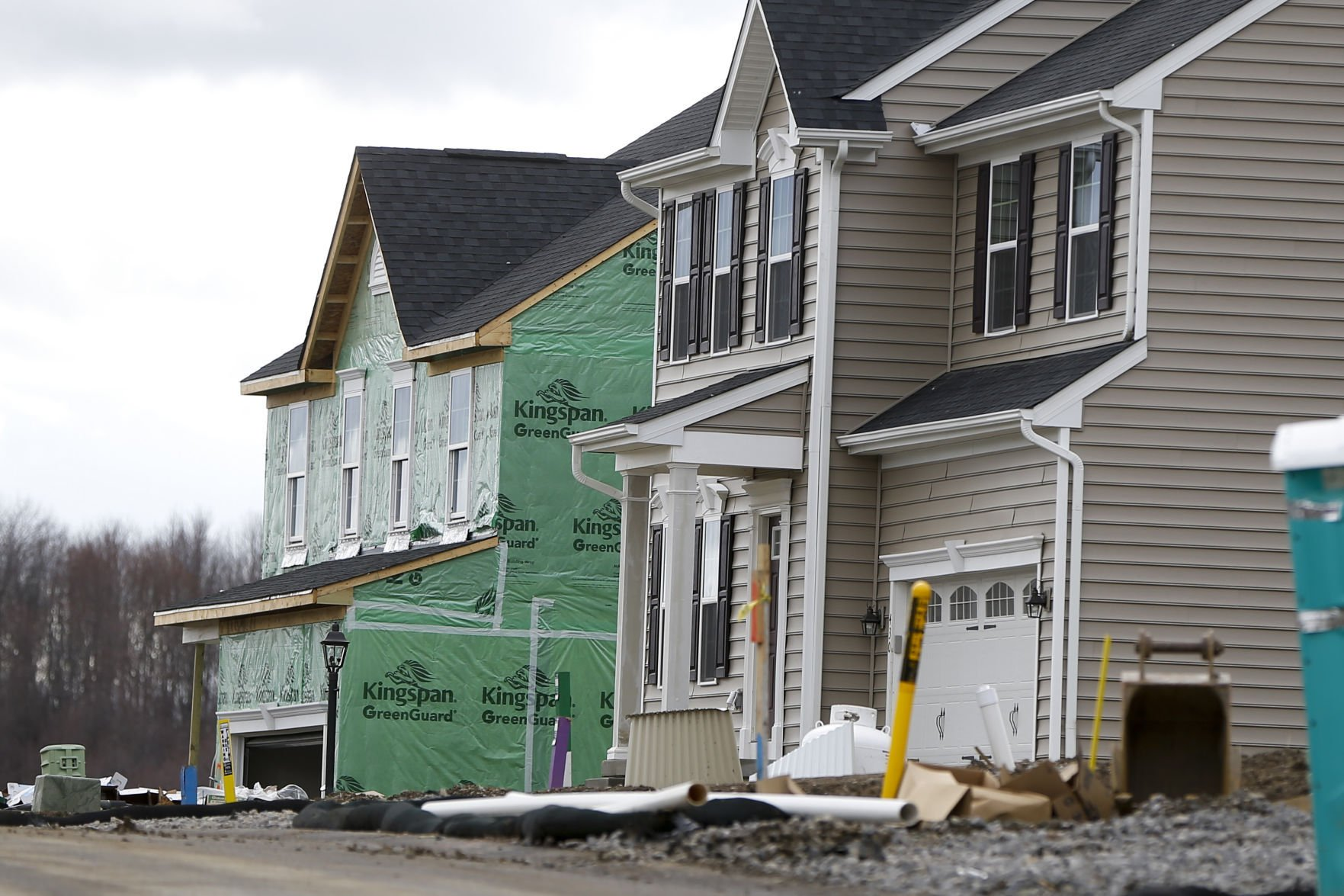 New home sales fell in July