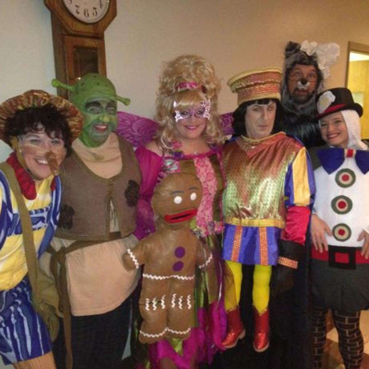 Going Green Shrek The Musical Ready For Family Fun In Whiting For Marian Theatre Guild Run Arts And Theatre Nwitimes Com