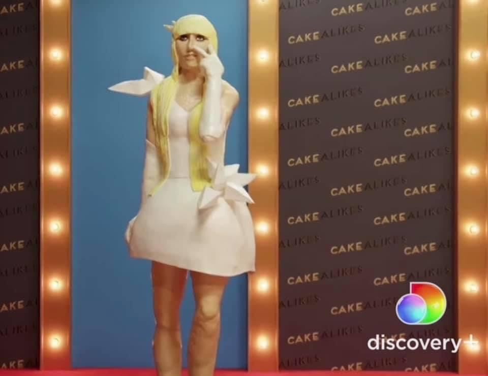 Local baker makes life-size Lady Gaga cake on Food Network show