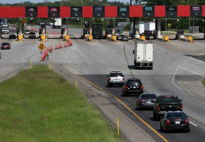 Travel plaza on the Indiana Toll Road
