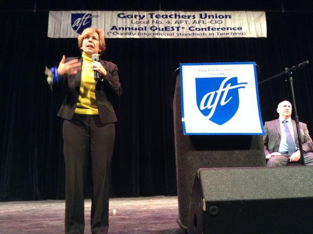 Teachers union leader: Reclaim promise of public education