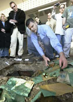 River Oaks Theaters time capsule turned up all wet