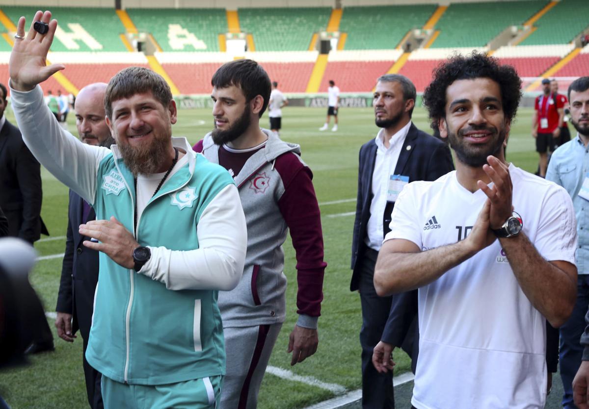 APTOPIX Russia Soccer WCup Egypt