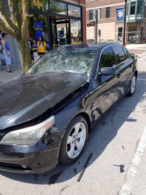 Police investigating after explosion damages car