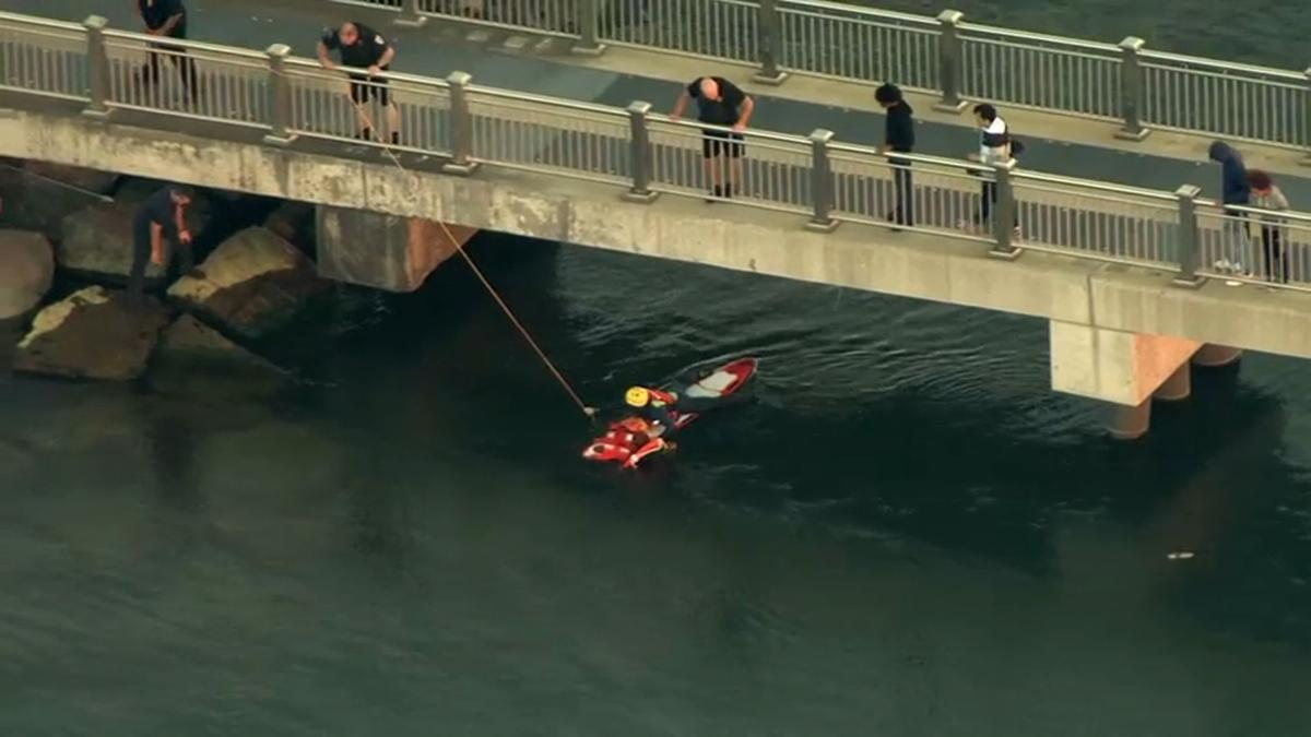 Hammond teen rescued from lakefront in Whiting after getting stuck in water, officials say