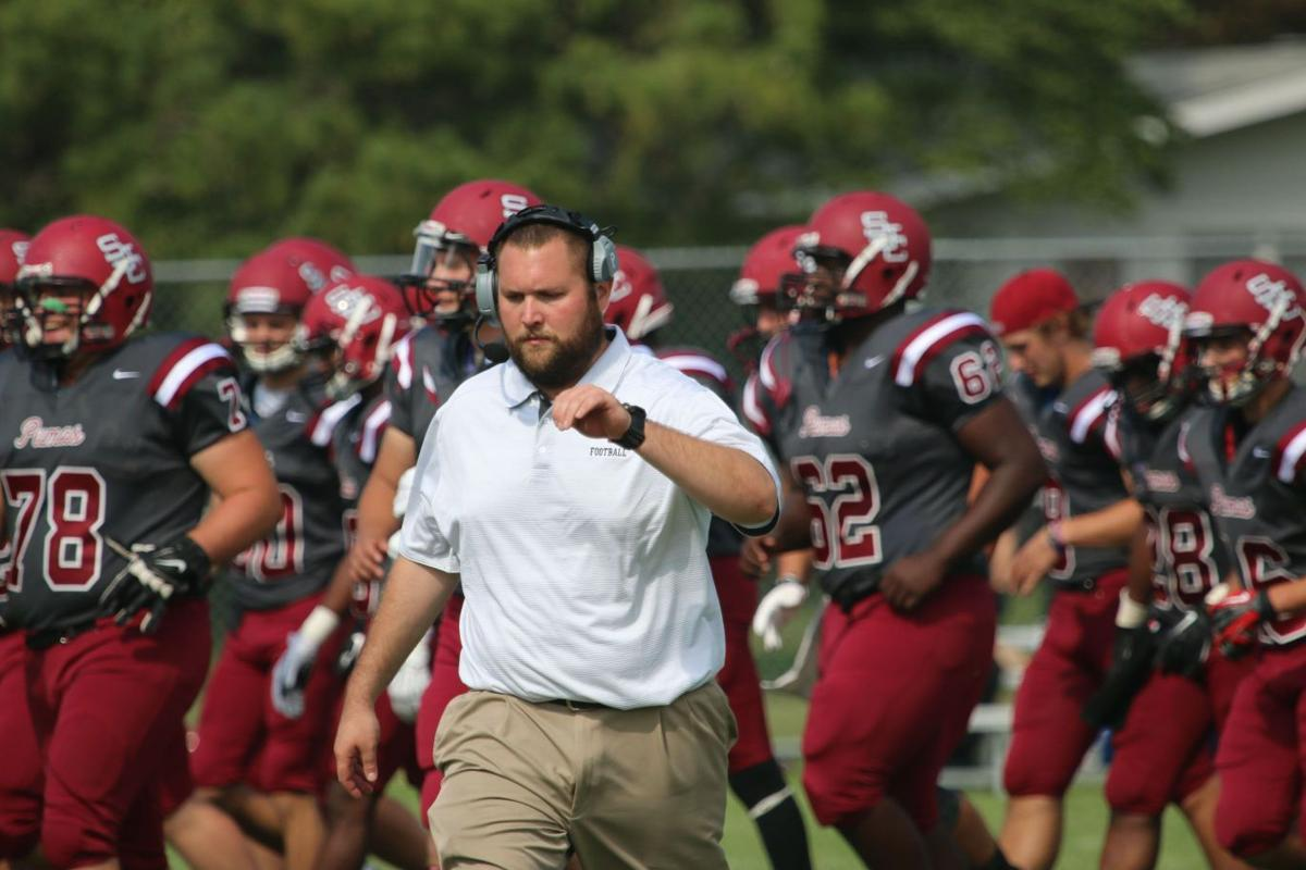 First-year St. Joseph's College football coach Dan Day
