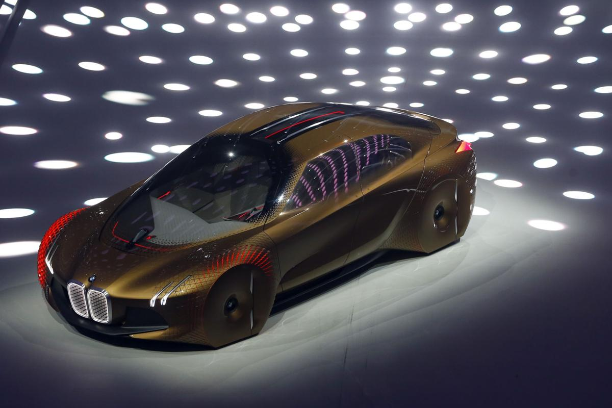 Bmw Shows Off Concept Car For The Self Driving Future Cars