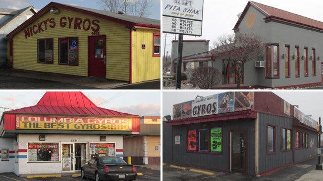 Gyros hold their place in Region cuisine