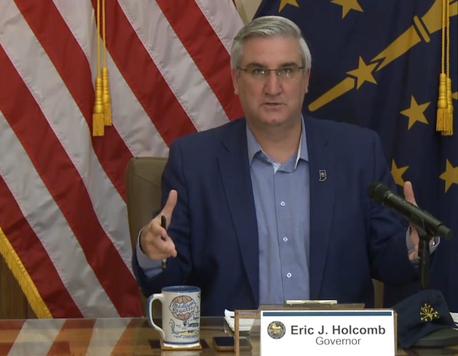 Holcomb press conference