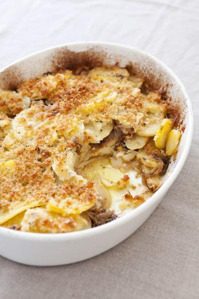 Food Column ATK Potato Gratin