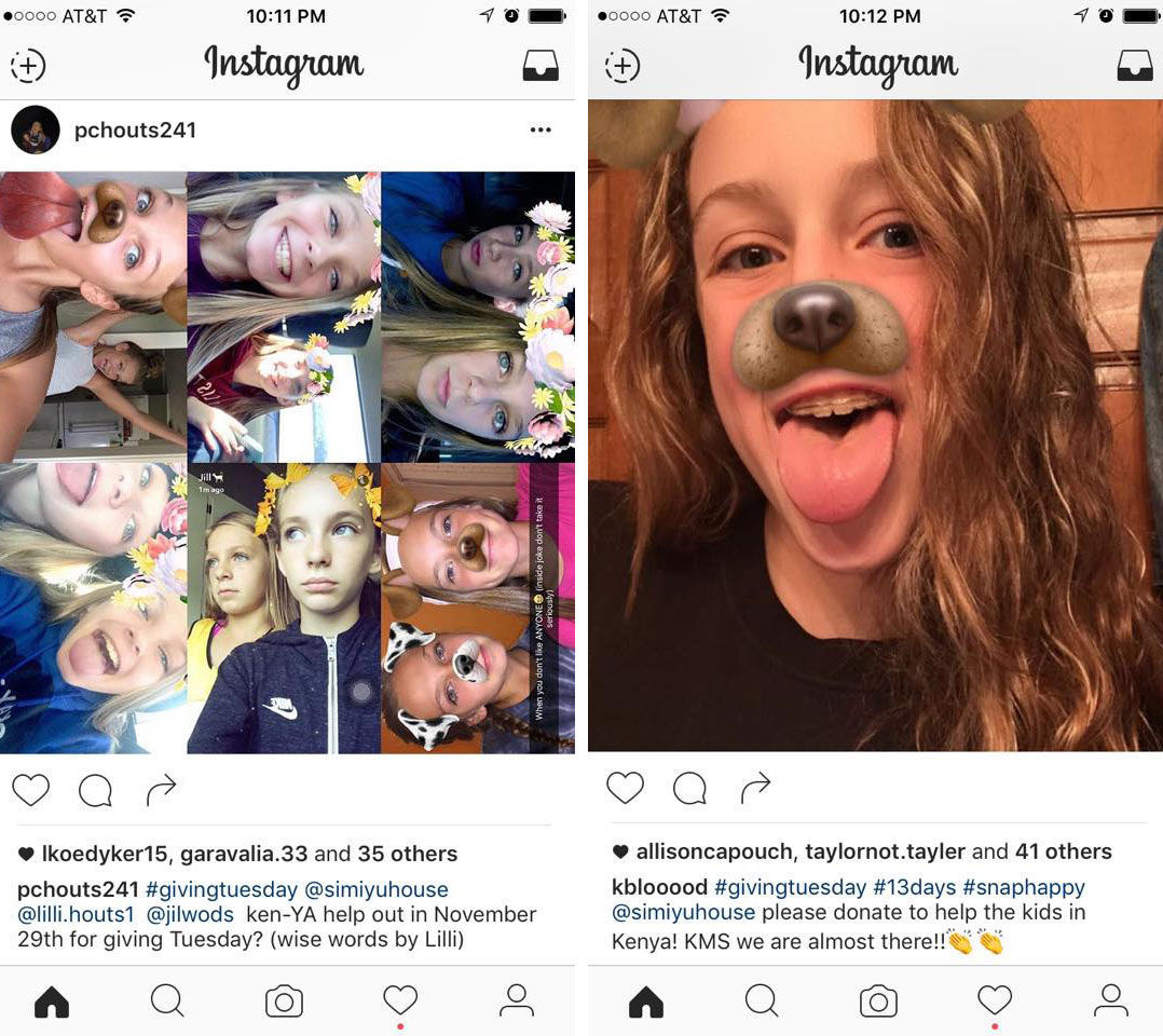 Kouts to Kenya: Students learn to give while bettering social media skills