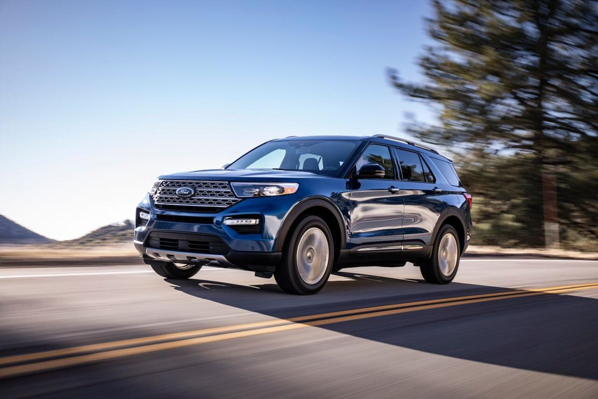 New Ford Explorer unveiled