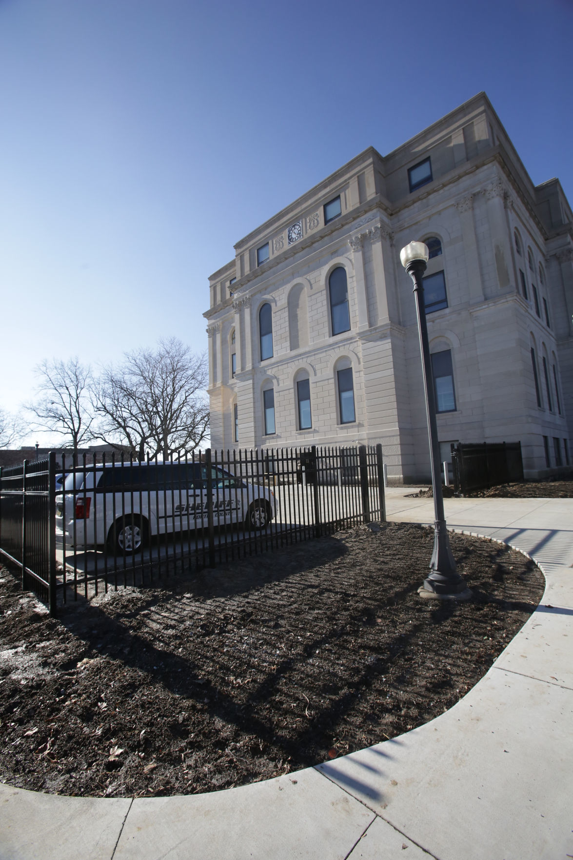 Major renovation work at Porter County Courthouse halfway done