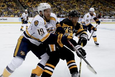 Stanley Cup Predators Penguins Hockey