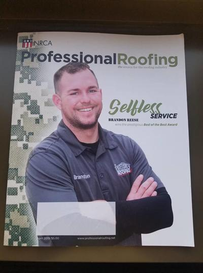 Hammond roofer, a veteran, named best of the best in nation