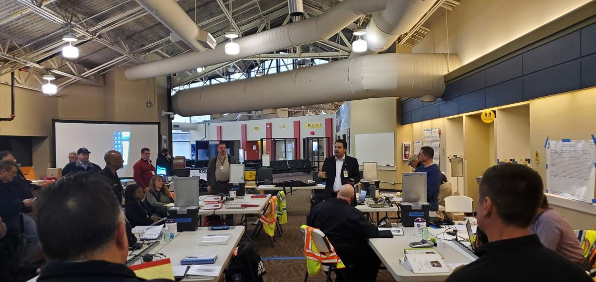 Emergency Operations Center Opens At Gary Chicago International Airport Latest Headlines Nwitimes Com