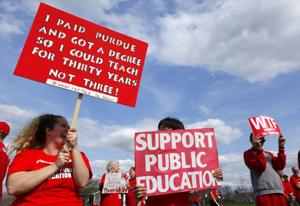 5 things to know about Indiana's Red for Ed Action Day