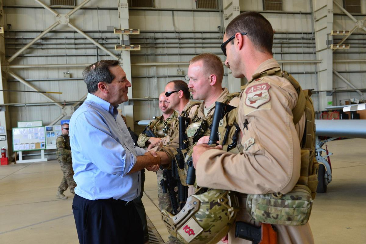 Donnelly in Afghanistan