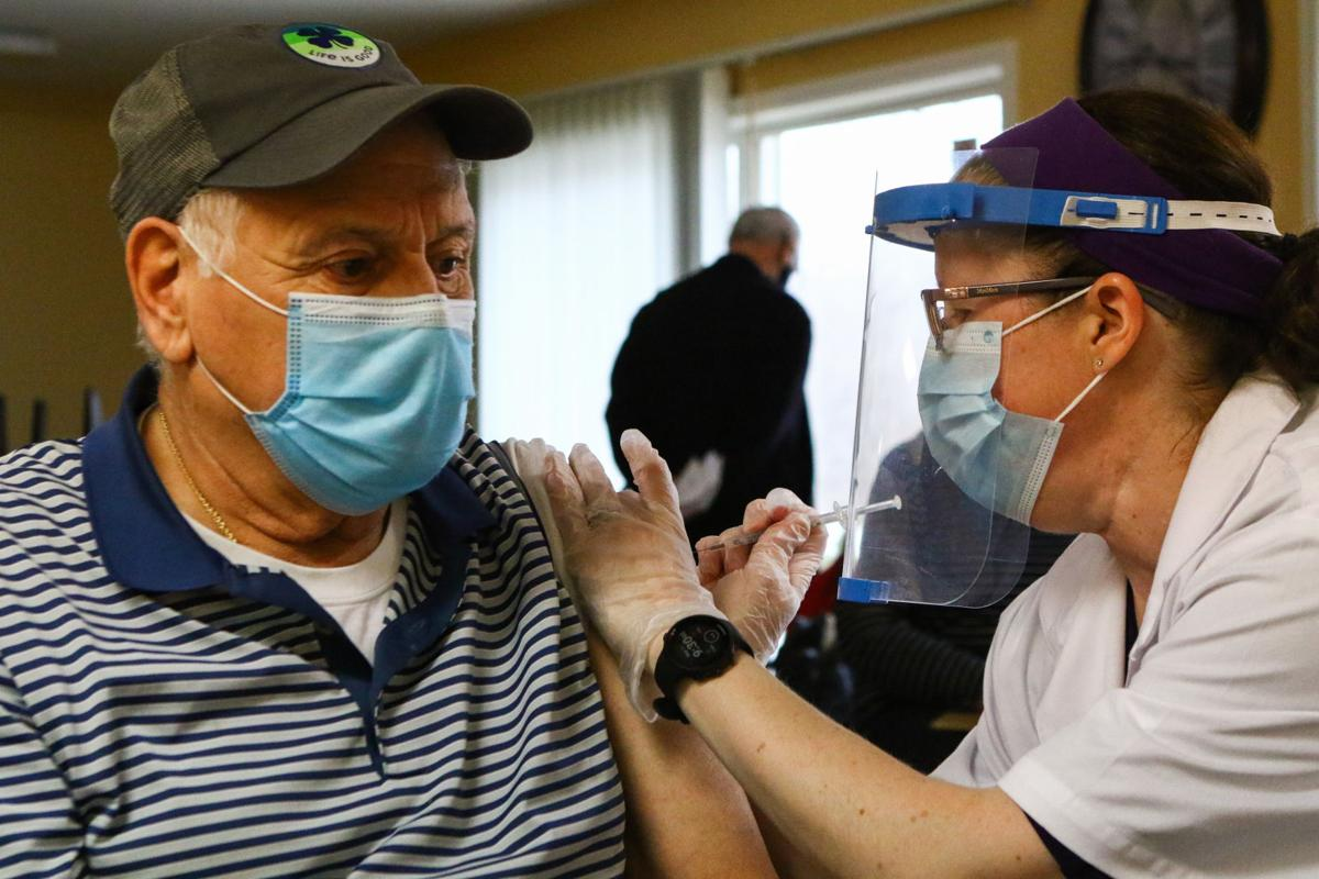 COVID-19 vaccine administered at AHEPA apartments