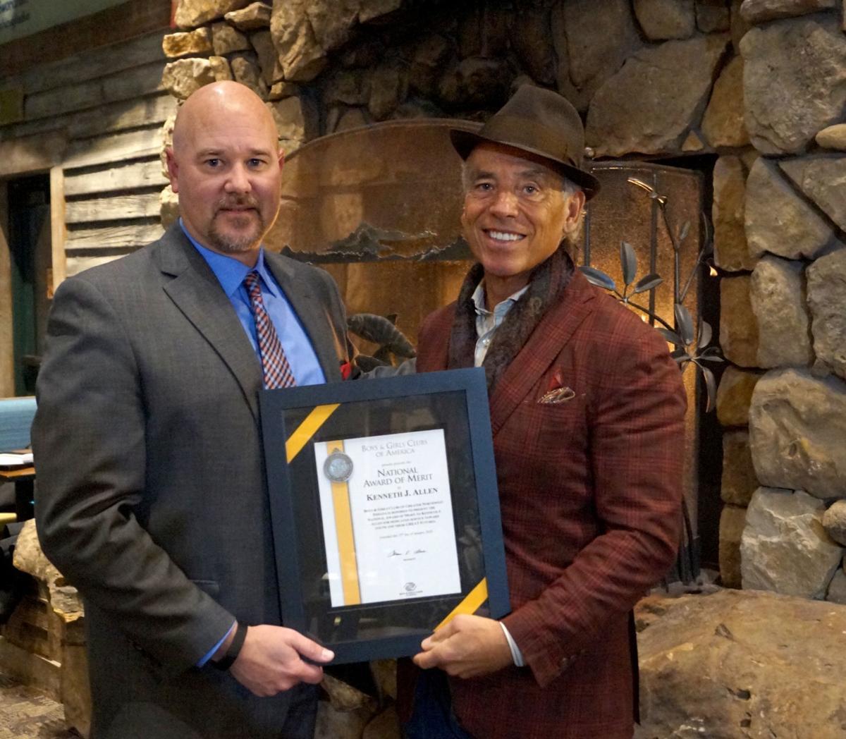 Boys & Girls Club gives Ken Allen National Award of Merit