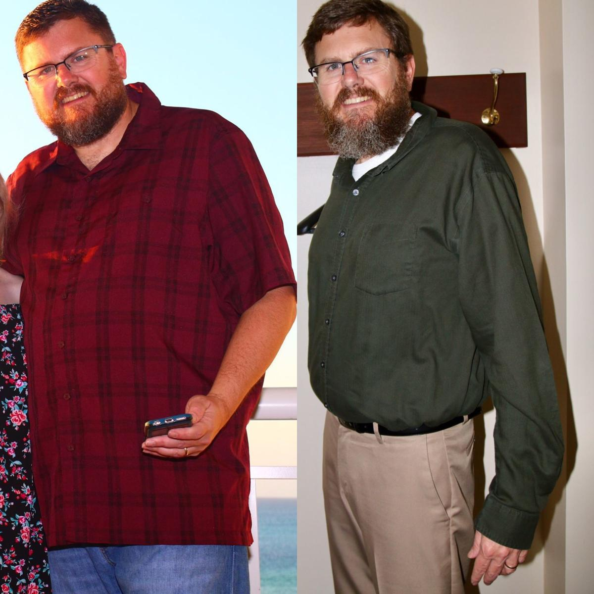 MARC CHASE: Cutting myself 'in half' in a 9-month