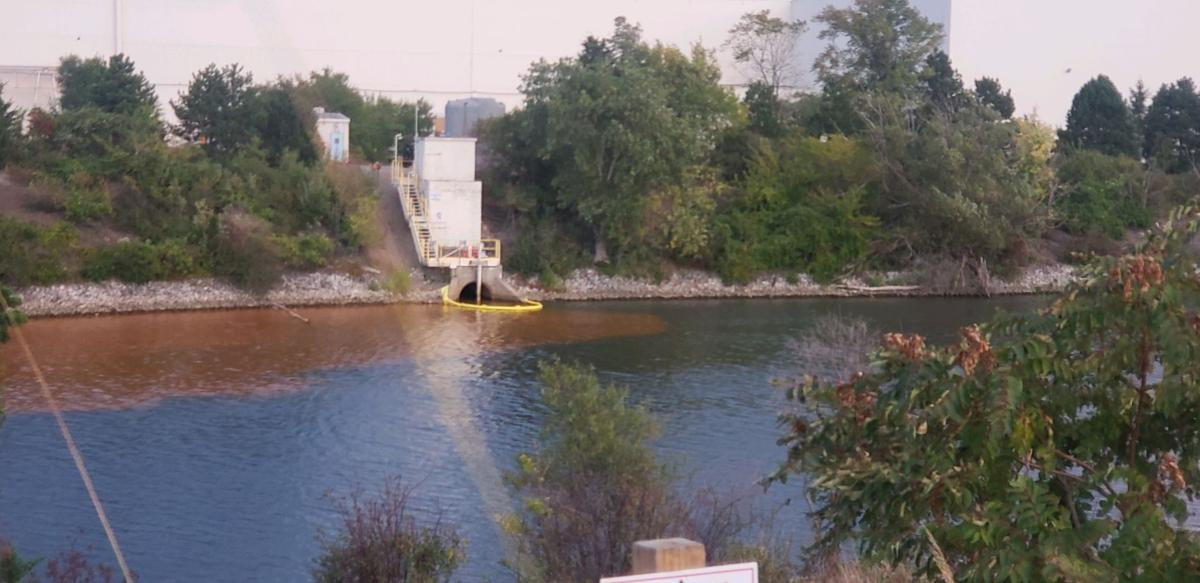 Portage mayor reports apparent discharge from U.S. Steel plant into waterway