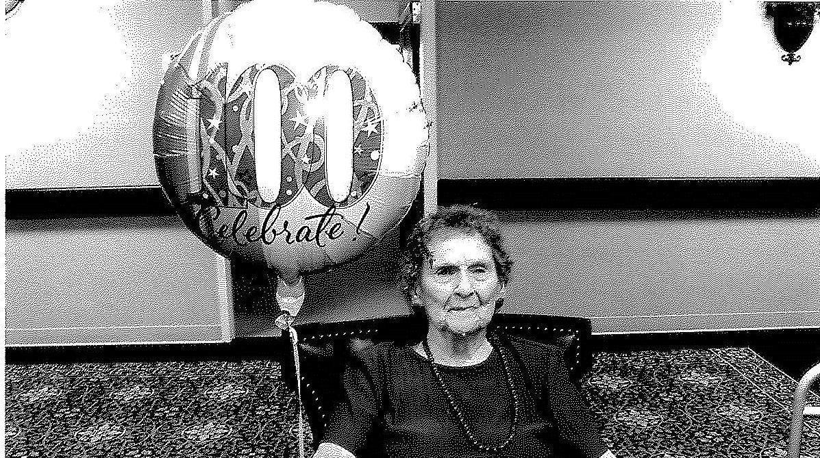 Happy 100th birthday, Mary Schroeder!