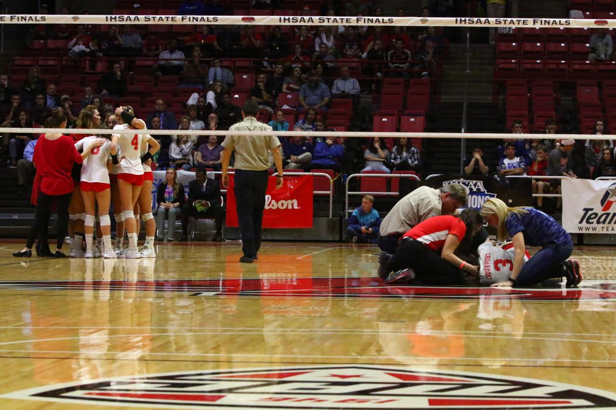 Volleyball Class 4A State Finals - Crown Point vs. Avon