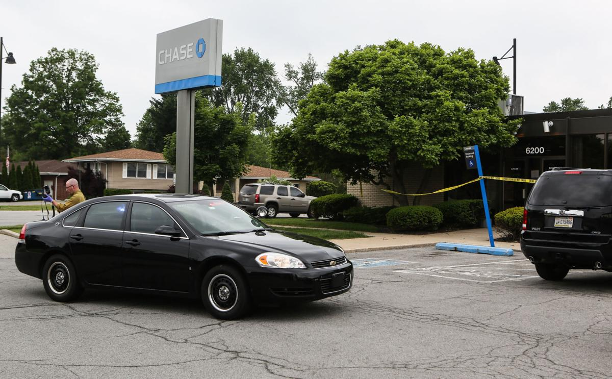 Portage Chase Bank robbed