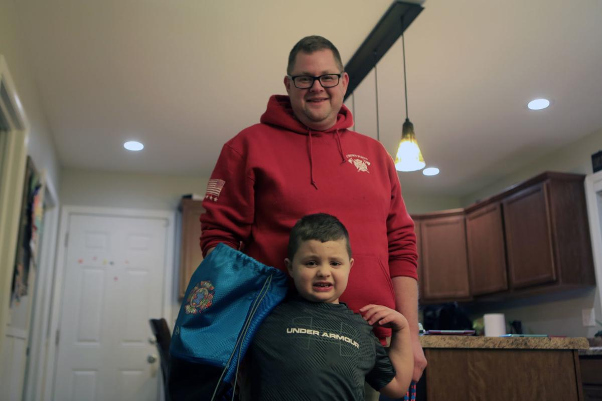 Firefighter paramedic brings sensory bags to Crown Point Fire Rescue