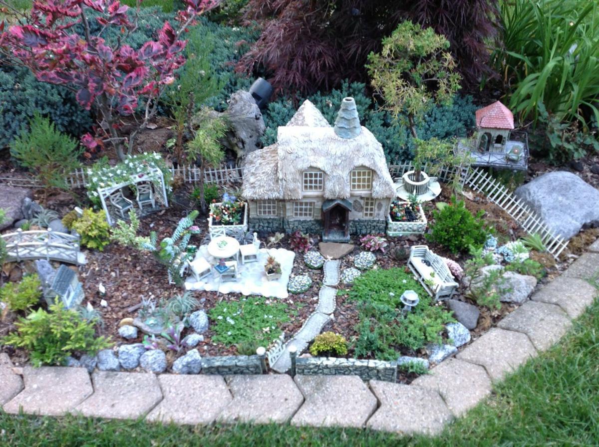 munster garden walk features beautiful whimsical designs home