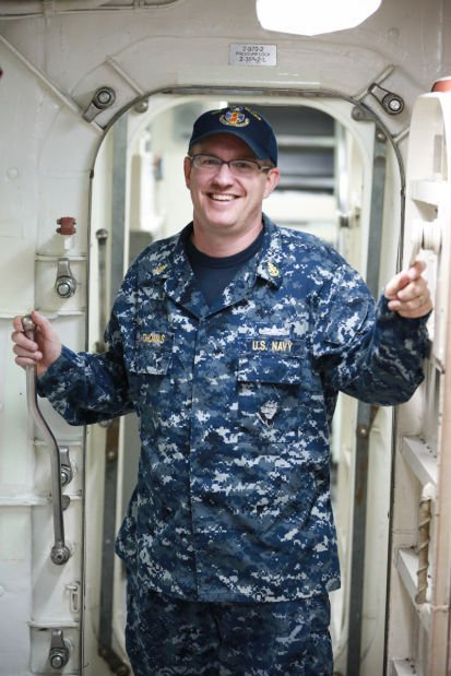 Michigan City native serves aboard USS John S. McCain