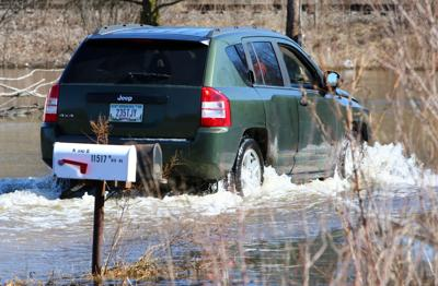 Flood cleanup continues in Hobart, Lake Station as residents wait for Kankakee to recede