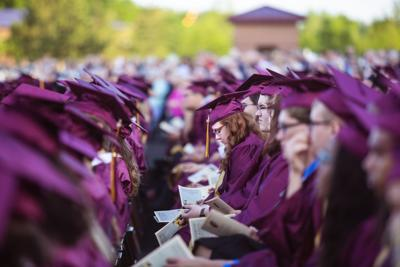 Graduation at Chesterton High School