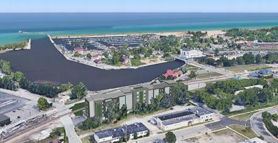 Waterfront condos with Lake Michigan views going up in Michigan City
