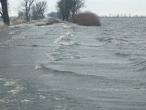 Stretch of Ind. 8 damaged by flooding finally reopens