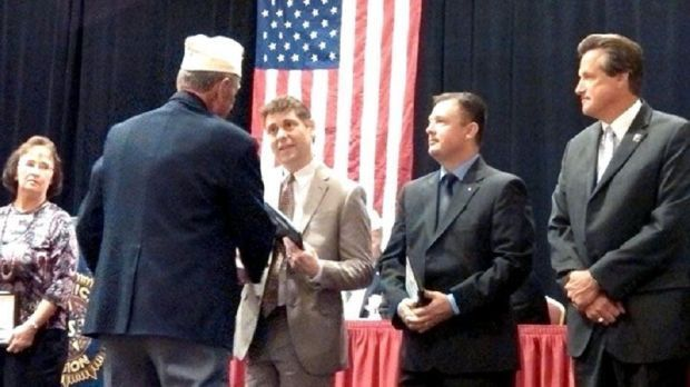 Crown Point teacher receives state award from American Legion