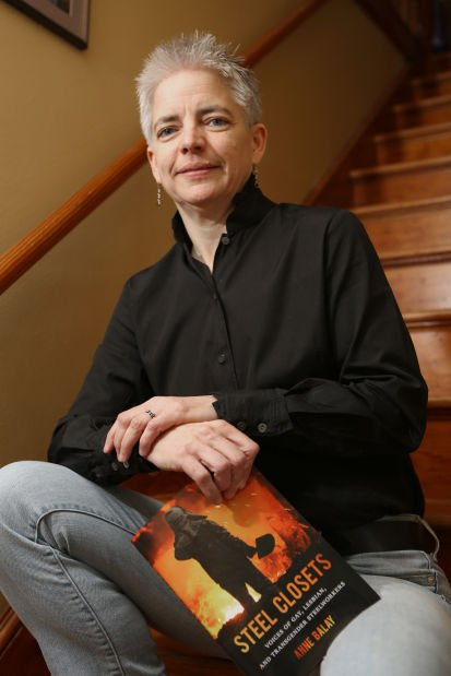 Author could not find books on gay steelmakers, so she wrote one