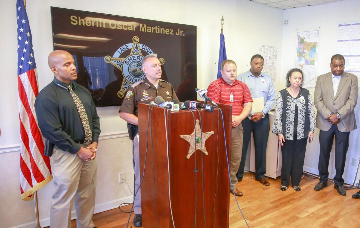 Drowning press conference with Sheriff Martinez