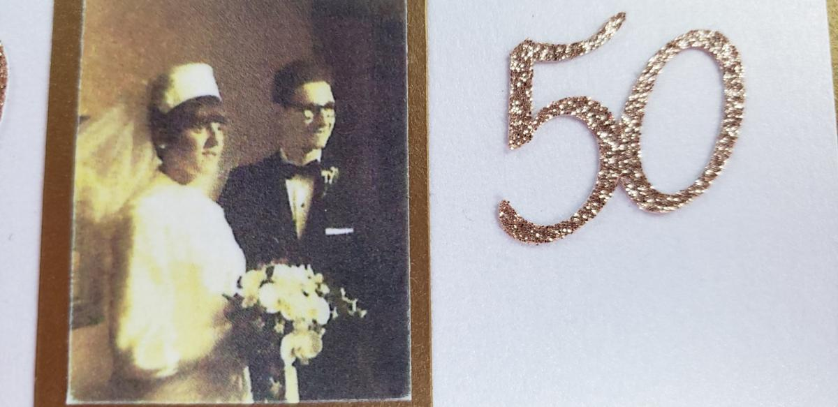 George and Marilyn celebrate 50 years