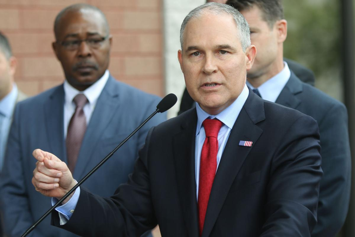EPA's Pruitt visits East Chicago