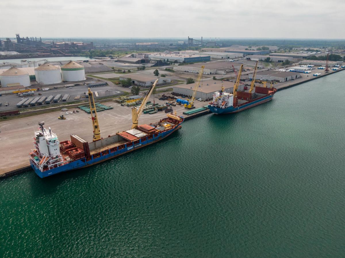 Port of Indiana-Burns Harbor lands $4 million grant for multimodal bulk storage facility