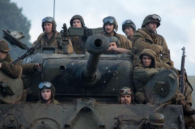 Hammond-made tank stars in World War II movie 'Fury'