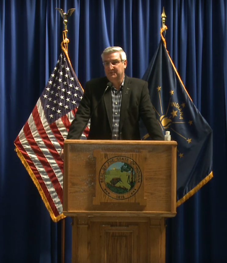 Governor expects Indiana's economy to rebound quickly after coronavirus