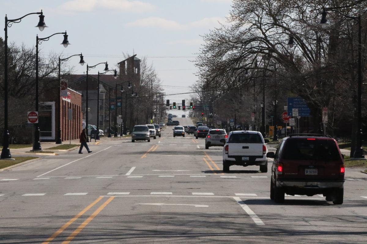 Michigan City Stock - Washington Street