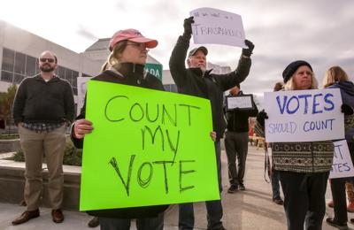Temperatures rising as Porter County candidates and voters anxiously await election results